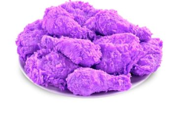 Purple fried Chicken
