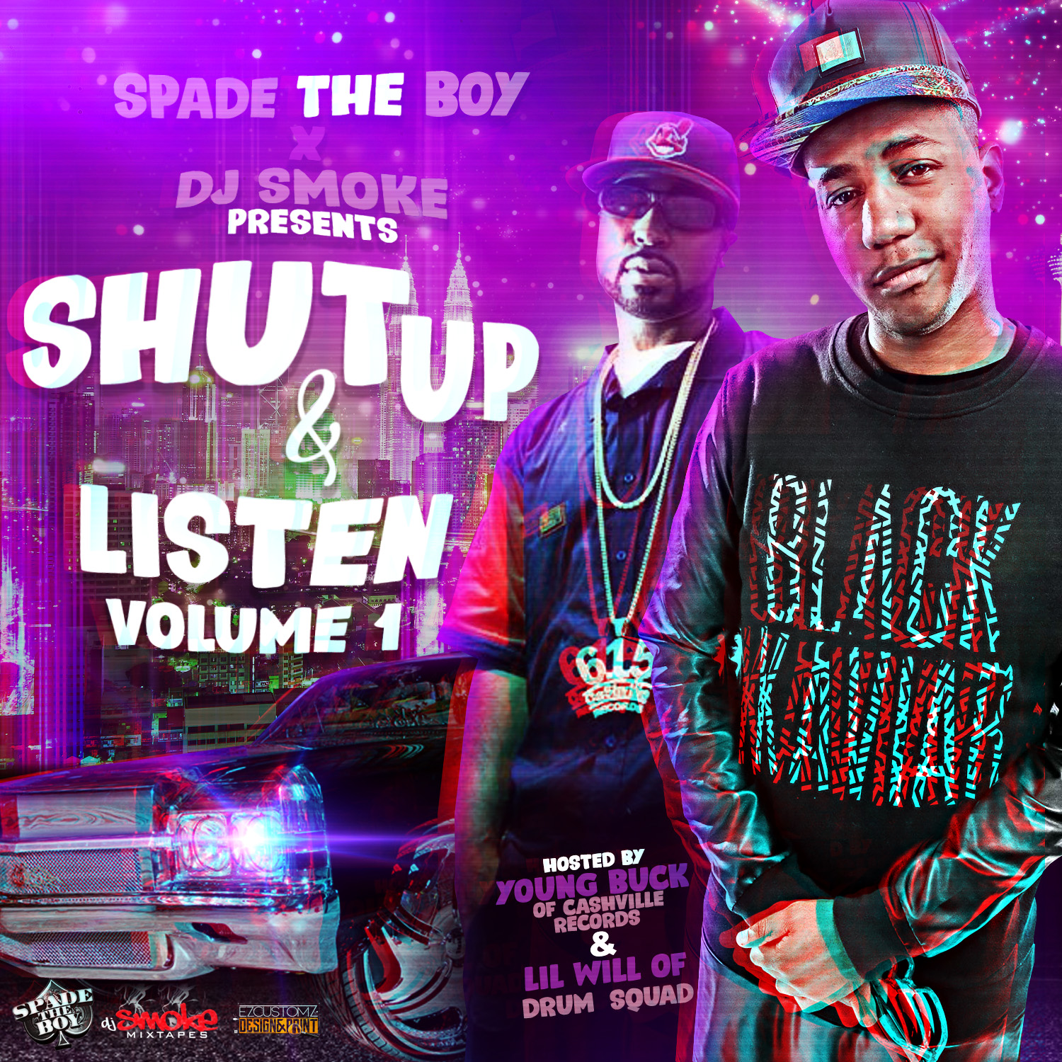 Dj Smoke Presents - Shut Up & Listen Vol. 1