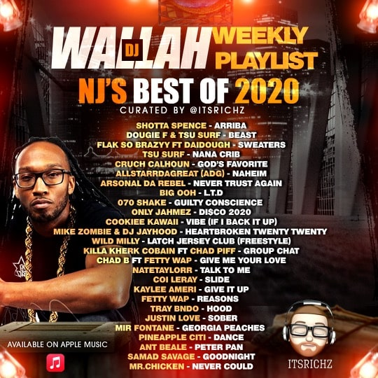 "DJ Wallah & ItsRichZ Drop The ""NJ's Best of 2020"" Playlist"